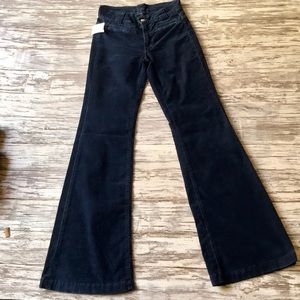 7 for all mankind Blue flare corduroys